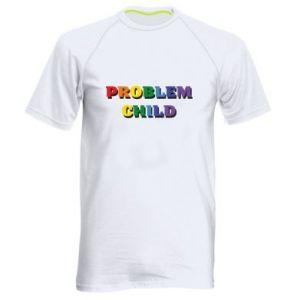Koszulka sportowa męska Problem child