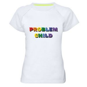 Koszulka sportowa damska Problem child