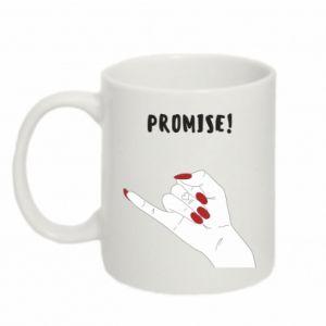 Kubek 330ml Promise!