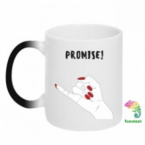 Kubek-kameleon Promise!