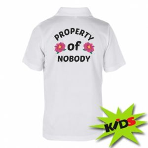 Children's Polo shirts Property of nobody