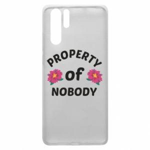 Etui na Huawei P30 Pro Property of nobody