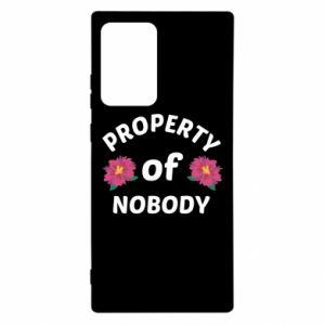 Etui na Samsung Note 20 Ultra Property of nobody