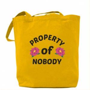 Torba Property of nobody