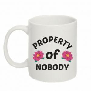 Kubek 330ml Property of nobody