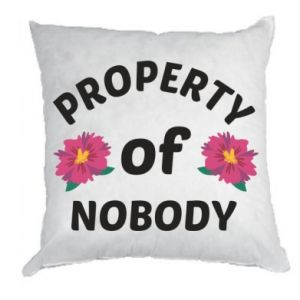 Pillow Property of nobody