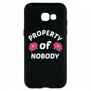 Phone case for Samsung A5 2017 Property of nobody
