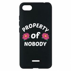 Phone case for Xiaomi Redmi 6A Property of nobody