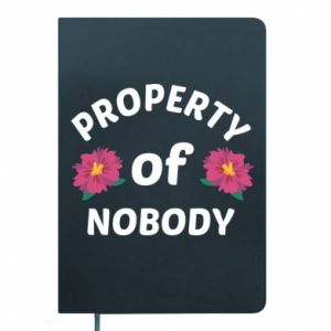 Notepad Property of nobody