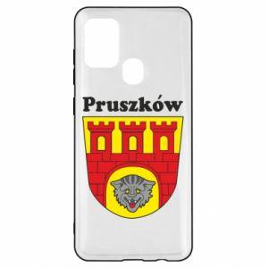 Etui na Samsung A21s Pruszków. Herb.