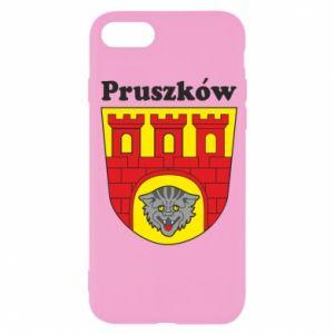 Etui na iPhone SE 2020 Pruszków. Herb.