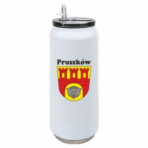 Puszka termiczna Pruszków. Herb.