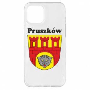 Etui na iPhone 12 Pro Max Pruszków. Herb.