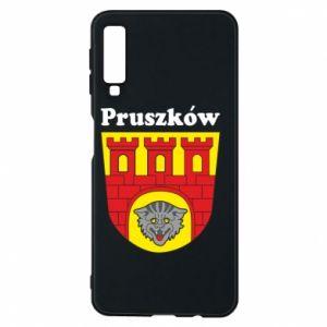 Etui na Samsung A7 2018 Pruszków. Herb.