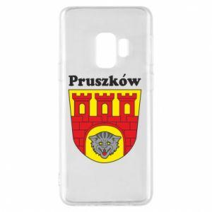 Etui na Samsung S9 Pruszków. Herb.