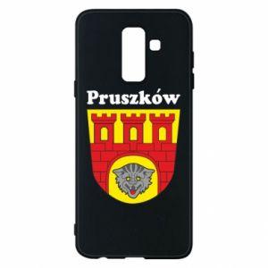 Etui na Samsung A6+ 2018 Pruszków. Herb.