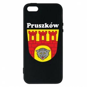 Etui na iPhone 5/5S/SE Pruszków. Herb.