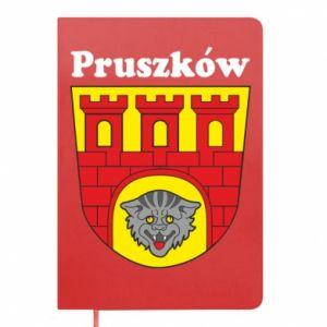 Notepad Pruszkow. Emblem.