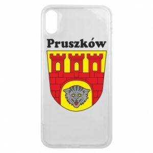 Etui na iPhone Xs Max Pruszków. Herb.