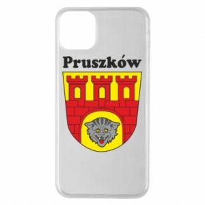 Etui na iPhone 11 Pro Max Pruszków. Herb.