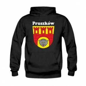 Bluza z kapturem dziecięca Pruszków. Herb.
