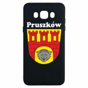 Etui na Samsung J7 2016 Pruszków. Herb.