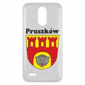 Etui na Lg K10 2017 Pruszków. Herb.