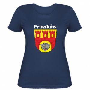 Damska koszulka Pruszków. Herb.