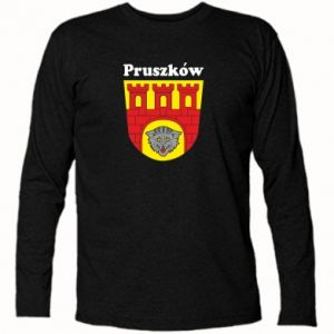 Koszulka z długim rękawem Pruszków. Herb.