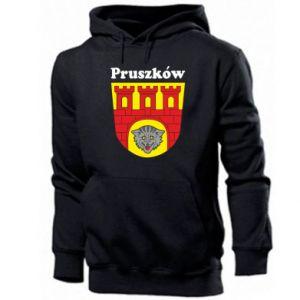 Bluza z kapturem męska Pruszków. Herb.