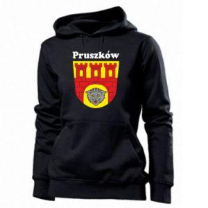 Bluza damska Pruszków. Herb.