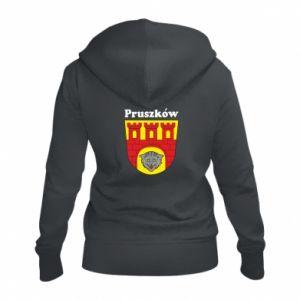Damska bluza na zamek Pruszków. Herb.