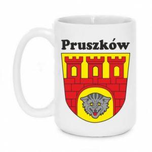 Kubek 450ml Pruszków. Herb.