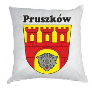 Poduszka Pruszków. Herb.