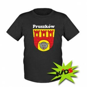 Dziecięcy T-shirt Pruszków. Herb.