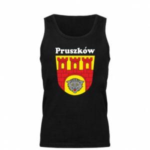 Męska koszulka Pruszków. Herb.