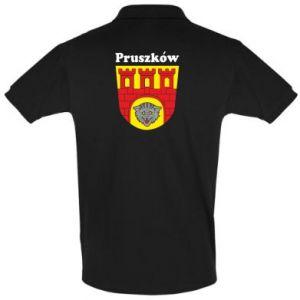 Koszulka Polo Pruszków. Herb.