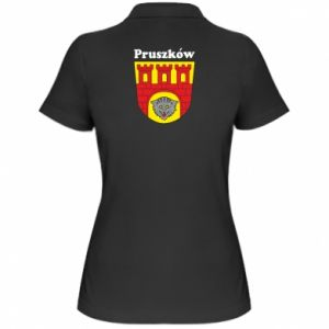 Koszulka polo damska Pruszków. Herb.