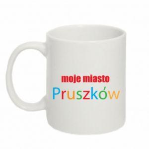 Kubek 330ml Napis: Moje miasto Pruszków - PrintSalon