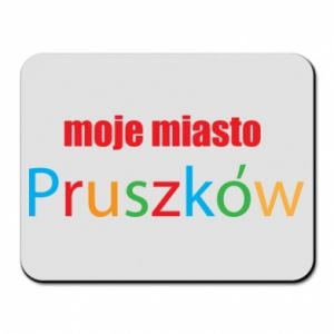 Mouse pad Inscription: My city Pruszkow