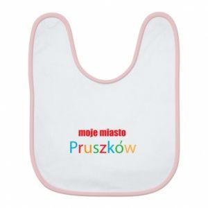 Śliniak Napis: Moje miasto Pruszków - PrintSalon