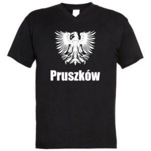 Męska koszulka V-neck Pruszków