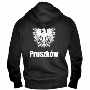 Męska bluza z kapturem na zamek Pruszków - PrintSalon