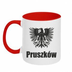 Kubek dwukolorowy Pruszków - PrintSalon