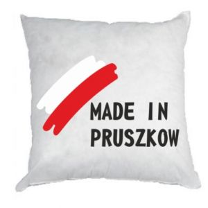 """Poduszka """"Made in Pruszkow"""""""