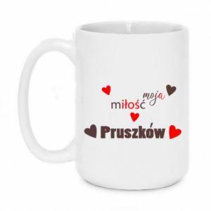 Mug 450ml Inscription - My love is Pruszkow