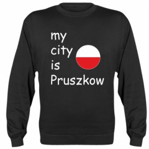 Bluza (raglan) My city is Pruszkow