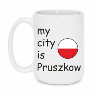 Kubek 450ml My city is Pruszkow