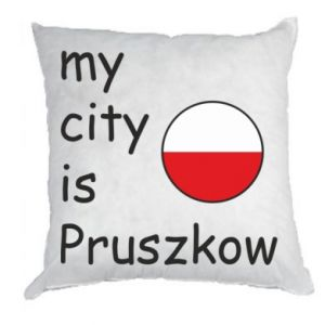 Pillow My city is Pruszkow