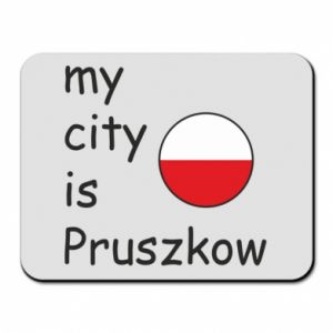 Mouse pad My city is Pruszkow